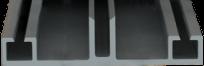 profil aluminiowy do poliweglanu E-2087