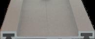 profil aluminiowy do poliweglanu E-2088