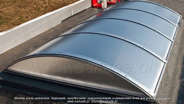 Chłodny ESKADE-SYSTEM producent świetlików dachowych CU75